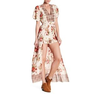 Indian made•Floral Maxi romper•